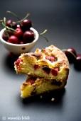 Torta con le ciliegie