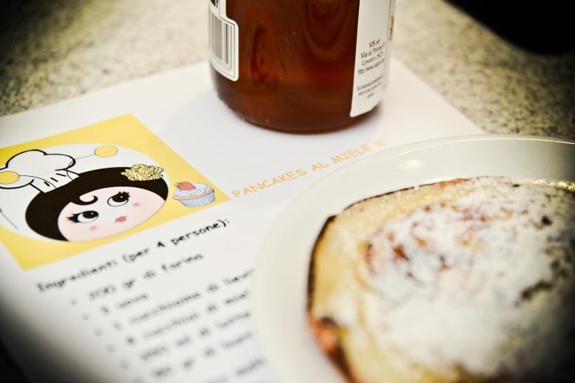 Pancakes al miele